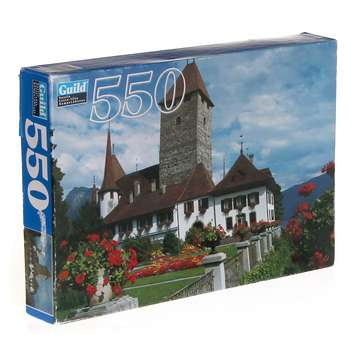 Guild 550 Piece Puzzle - Bluebonnets At Summerfield's Wagons Puzzle for Sale on Swap.com
