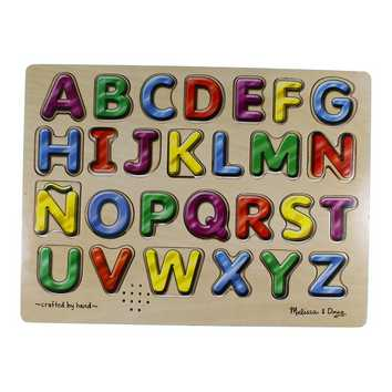 Hand Crafted Wooden Alphabet Puzzle Puzzle for Sale on Swap.com