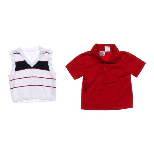 Proper Attire Handsome Polo Shirt & Vest Set in size 2/2T at up to 95% Off - Swap.com