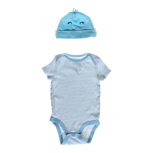 Carter's Hat & Bodysuit Set in size 3 mo at up to 95% Off - Swap.com