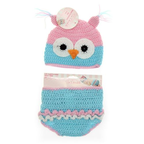 So' Adorable Hat & Diaper Cover Set in size NB at up to 95% Off - Swap.com