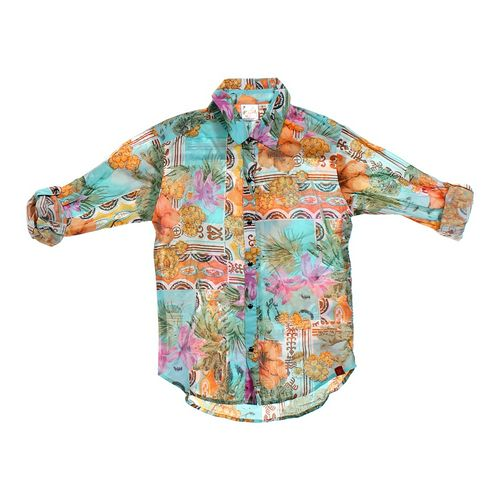 L'orange Hawaiian Button-up Shirt in size 8 at up to 95% Off - Swap.com