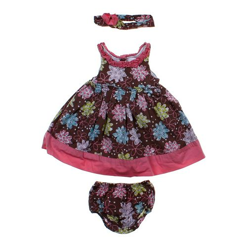 Maggie & Zoe Headband & Sundress & Bloomers Set in size 12 mo at up to 95% Off - Swap.com