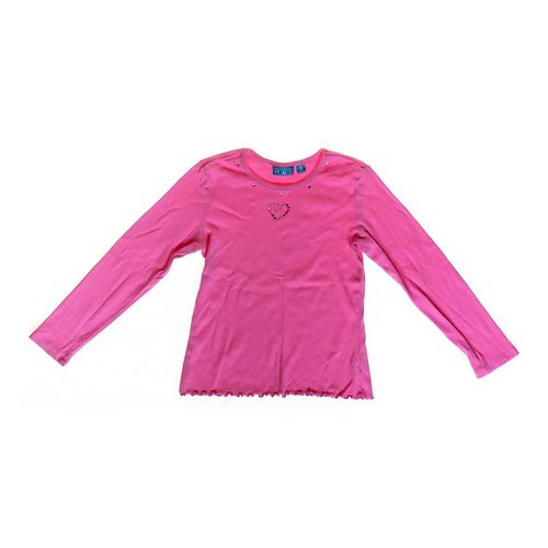 The Children's Place Heart Embroidered Shirt in size 7 at up to 95% Off - Swap.com