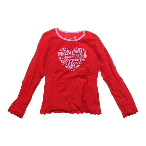 The Children's Place Heart Graphic Shirt in size 7 at up to 95% Off - Swap.com
