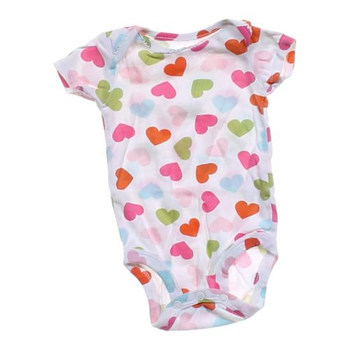 Carter's Heart Print Bodysuit in size 3 mo at up to 95% Off - Swap.com