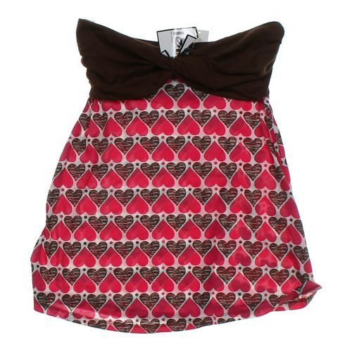 L.E.I. Heart Print Dress in size JR 7 at up to 95% Off - Swap.com