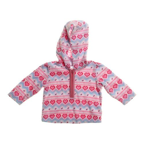 Small Wonders Heart Print Hoodie in size 6 mo at up to 95% Off - Swap.com