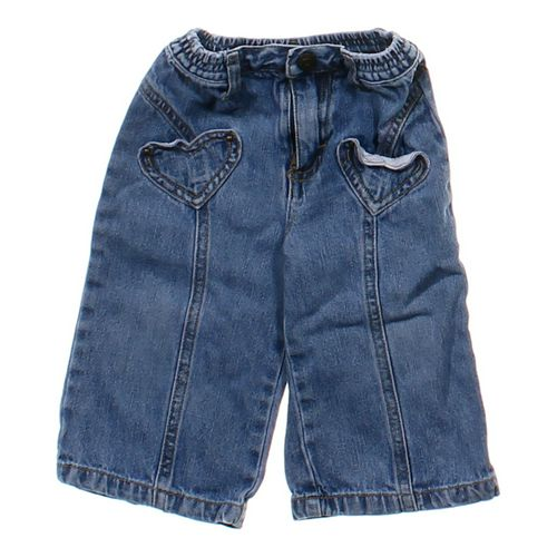 The Children's Place Heart Print Pocket Jeans in size 12 mo at up to 95% Off - Swap.com