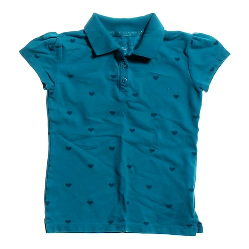 Cherokee Heart Print Polo in size 8 at up to 95% Off - Swap.com