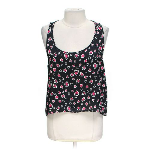 Sans Souci Heart Print Tank Top in size L at up to 95% Off - Swap.com