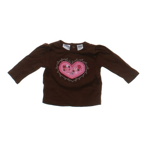 Miniwear Heart Shirt in size 3 mo at up to 95% Off - Swap.com