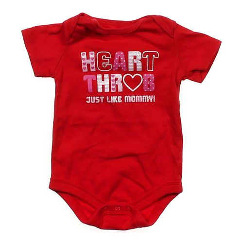"""""""Heart Throb"""" Bodysuit in size 6 mo at up to 95% Off - Swap.com"""