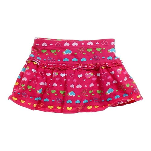 Garanimals Hearts Patterned Skort in size 24 mo at up to 95% Off - Swap.com