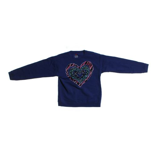 Hanes Hearts Sweatshirt in size 14 at up to 95% Off - Swap.com
