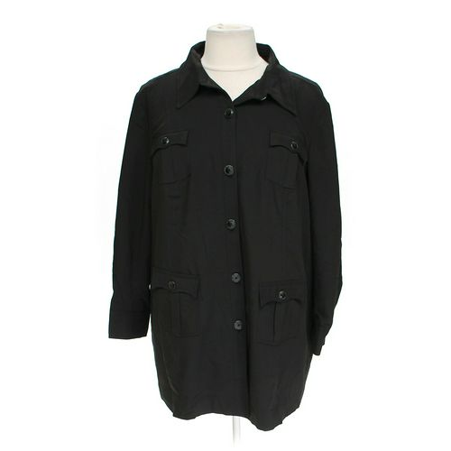 Mary McFadden Heavyweight Button-up Shirt in size 22 at up to 95% Off - Swap.com