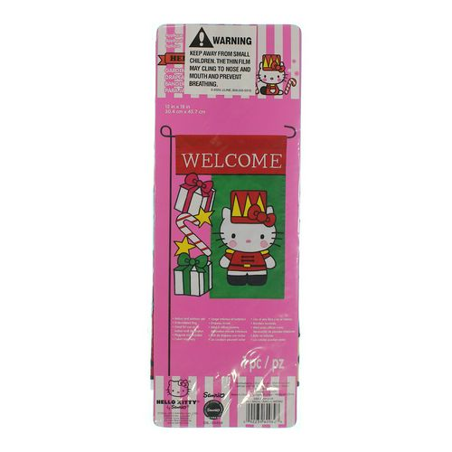 Hello kitty hello kitty garden flag in size at up to 95 off - Hello this is my new picture garden interior ...