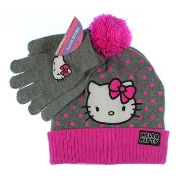 Hello Kitty Hat & Gloves Set for Sale on Swap.com