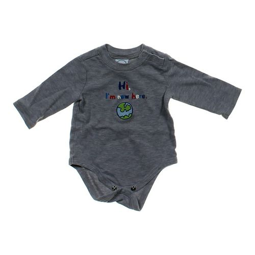 """Circo """"Hi I'm New Here"""" Bodysuit in size 6 mo at up to 95% Off - Swap.com"""