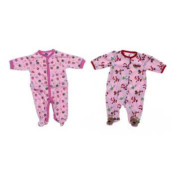 Holiday Footed Pajamas Set for Sale on Swap.com