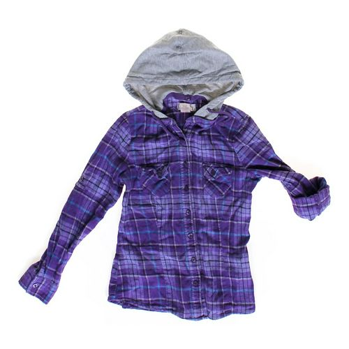 Op Hooded Button-up Shirt in size JR 3 at up to 95% Off - Swap.com