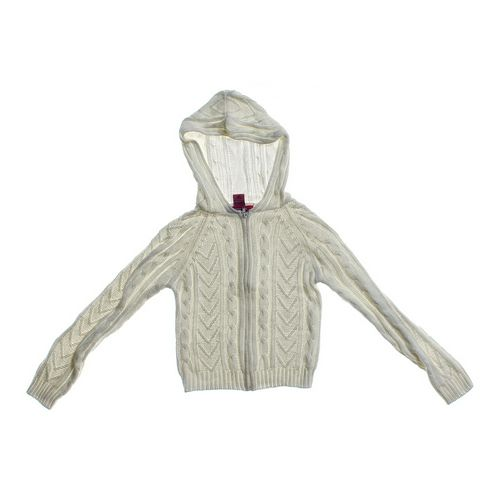 Jeanie Bleu Hooded Cardigan in size 10 at up to 95% Off - Swap.com