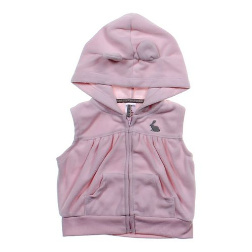 Carter's Hooded Fleece Vest in size 6 mo at up to 95% Off - Swap.com