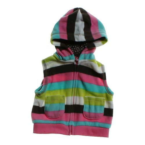 Carter's Hooded Fleece Vest in size 3 mo at up to 95% Off - Swap.com