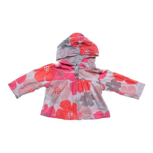 Carter's Hooded Floral Jacket in size 6 mo at up to 95% Off - Swap.com