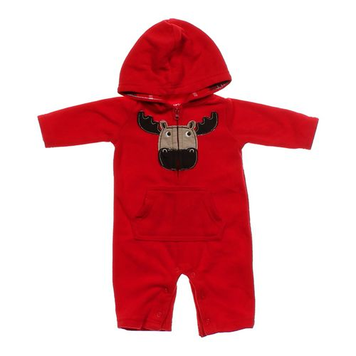 Carter's Hooded Jumpsuit in size NB at up to 95% Off - Swap.com