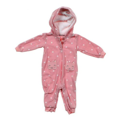 Carter's Hooded Jumpsuit in size 6 mo at up to 95% Off - Swap.com