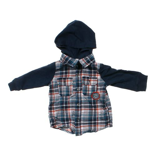 Koala Kids Hooded Mock Shirt in size 6 mo at up to 95% Off - Swap.com