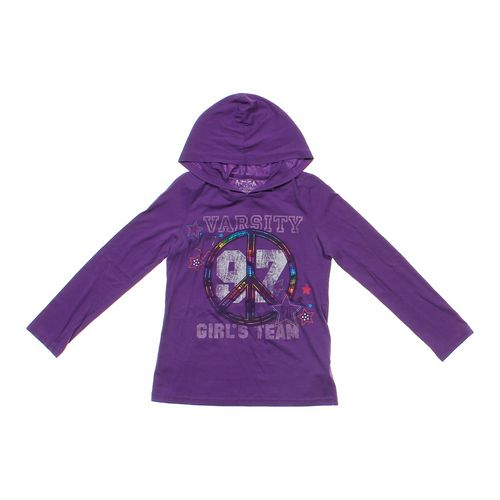 Total Girl Hooded Shirt in size 14 at up to 95% Off - Swap.com