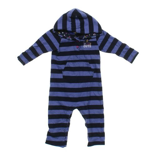 Carter's Hooded Striped Jumpsuit in size 18 mo at up to 95% Off - Swap.com