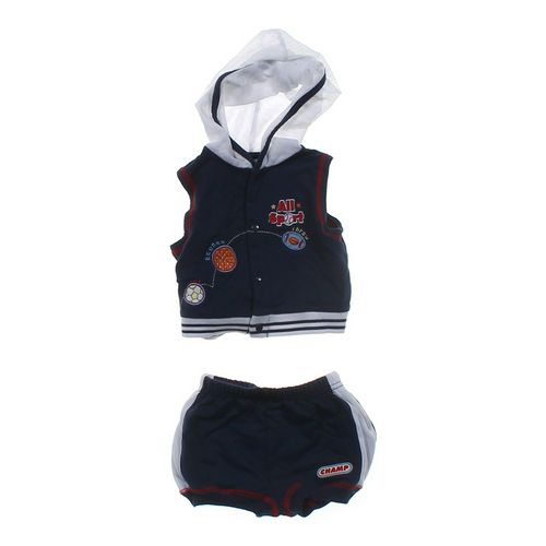Hooded Vest & Shorts Set in size 3 mo at up to 95% Off - Swap.com
