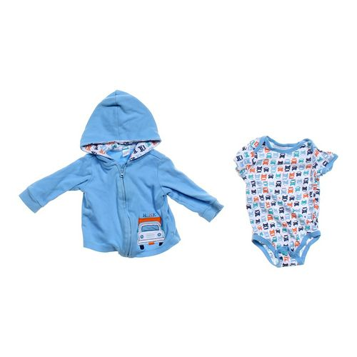 Carter's Hoodie & Bodysuit Set in size 3 mo at up to 95% Off - Swap.com