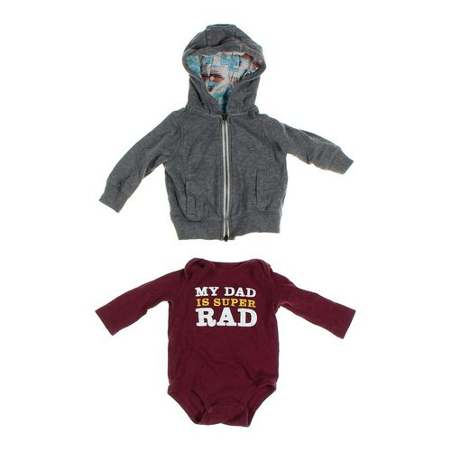 Carter's Hoodie & Bodysuit Set in size 6 mo at up to 95% Off - Swap.com