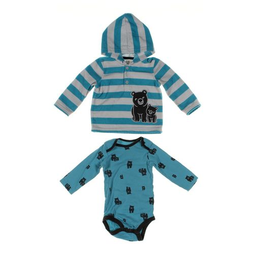Just One You Hoodie & Bodysuit Set in size 12 mo at up to 95% Off - Swap.com