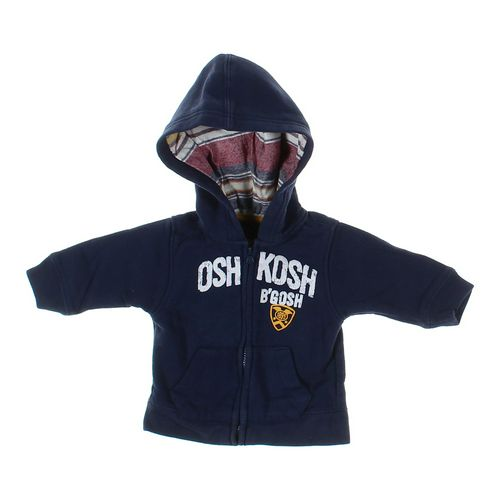 OshKosh B'gosh Hoodie in size 3 mo at up to 95% Off - Swap.com