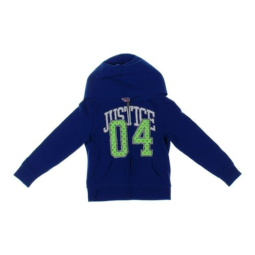 Justice Hoodie in size 5/5T at up to 95% Off - Swap.com
