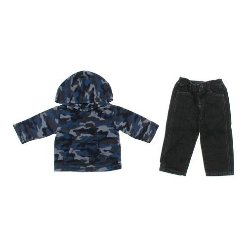 Jumping Beans Hoodie & Jeans Set in size 12 mo at up to 95% Off - Swap.com