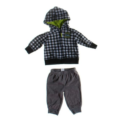 Carter's Hoodie & Sweatpants Set in size 3 mo at up to 95% Off - Swap.com