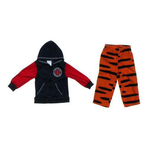Teddy Boom Basics Hoodie & Tiger Pants in size 24 mo at up to 95% Off - Swap.com