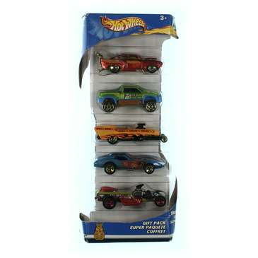 Hot Wheels 5 Car Gift Pack (Styles May Vary) for Sale on Swap.com