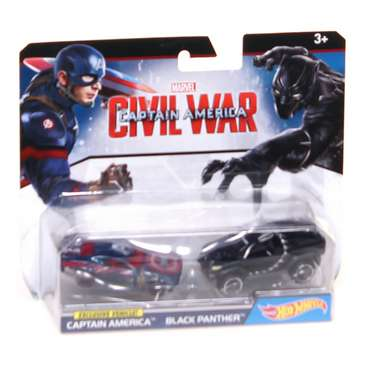 Hot Wheels Captain America Vs Black Panther for Sale on Swap.com