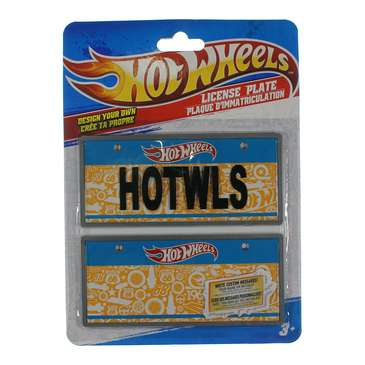 Hot Wheels License Plate for Sale on Swap.com