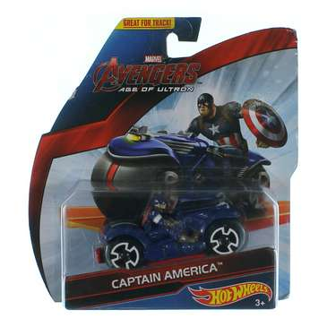 Hot Wheels Marvel Avengers Motorcycle with Rider for Sale on Swap.com