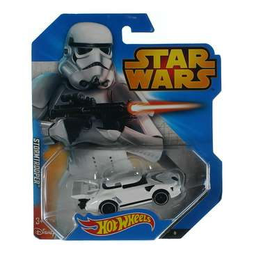 Hot Wheels Star Wars Character Car, Stormtrooper for Sale on Swap.com