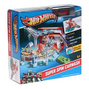 Hot Wheels Super Spin Carwash for Sale on Swap.com
