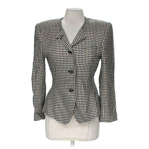 Petite Sophisticate Houndstooth Jacket in size 8 at up to 95% Off - Swap.com